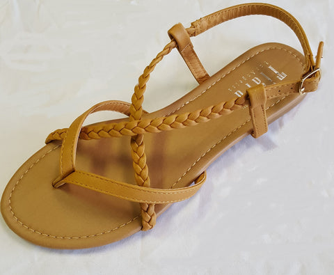 Rio Braided Strappy Sandal - 6, 6.5, & 7 - LAST CALL