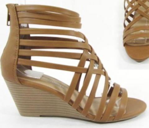 Strappy Wedges - 6.5