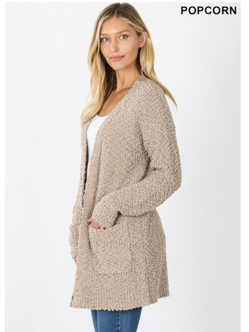 Soft PopCorn Cardigan - More Colors