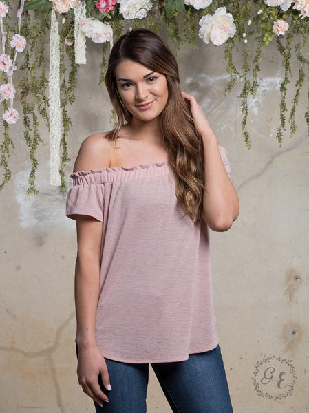 Flirty Off the Shoulder Top