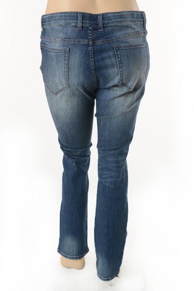 Women's Patched Skinny Jeans