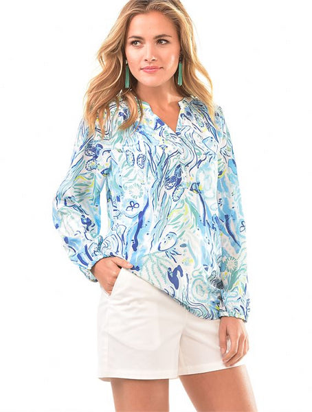 Resort Print Top