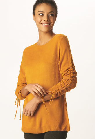 LAST CALL - Spicy Sweater - S Mustard, XL Gray