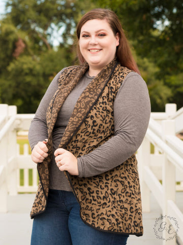 Paws-itively Perfect Leopard Vest