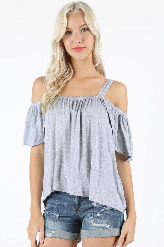 Off Shoulder Top with Strap