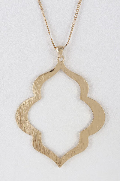 Brushed Statement Necklace