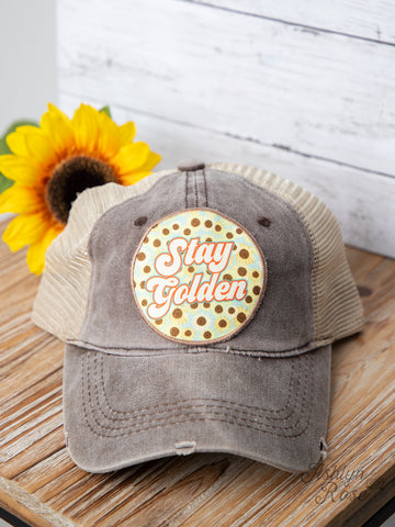 Stay Golden Pony Cap