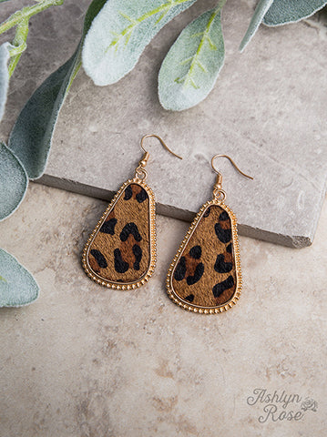 Glam Leopard Earrings