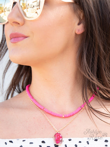 All Summer Long Layered Necklace