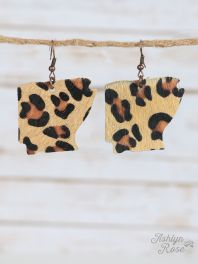 Leopard Arkansas Earrings
