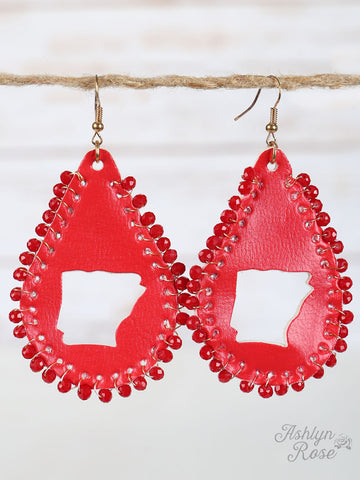 Arkansas Cut Out Earrings