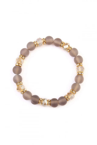 Rondelle Stretch Bracelets - mix and match