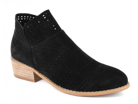 Brier - LaserCut Ankle Boots