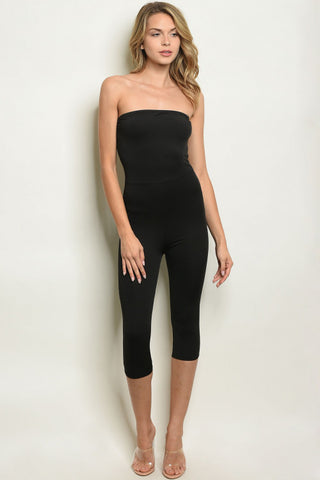 LAST CALL - Tube Top Jumpsuit - Size S
