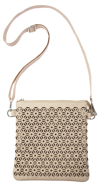 Laser Cut Cross Body Bag