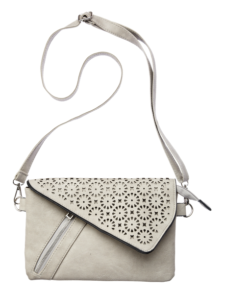 Flap Clutch Cross Body Bag