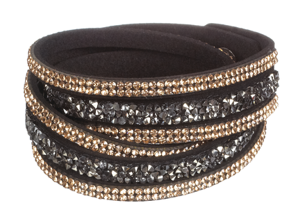 Bling Wrap Bracelet or Choker Necklace