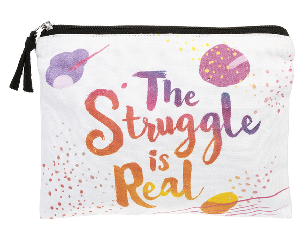 Struggle is Real - Funny Zip Bag