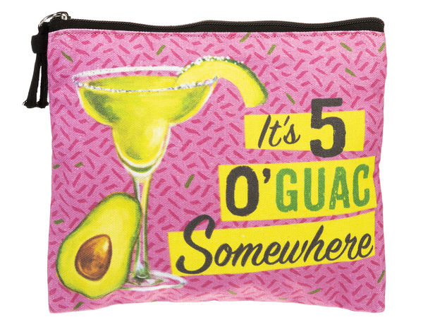 5 o'Guac Somewhere - Funny Zip Bag