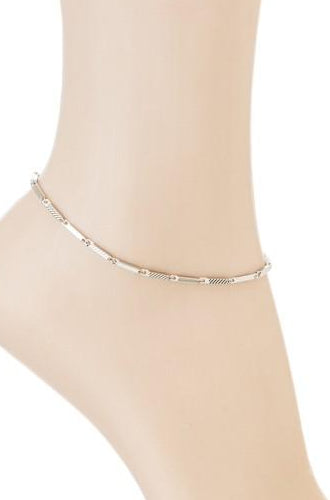 Bar Link Chain Anklet