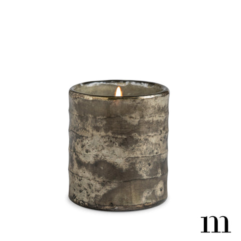 Relaxation Gunmetal Cylinder Candle