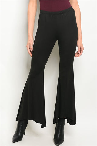 LAST CALL - Black Flare Pants - Size S
