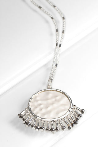 Bohemian Inspired Coin Necklace
