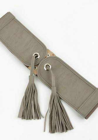 Stretch Tassel Belt
