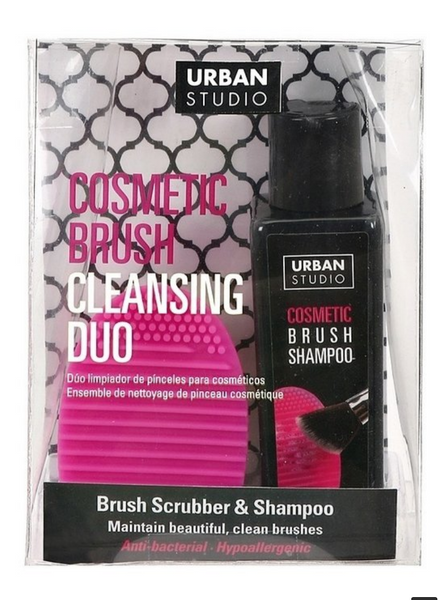 Makeup Brush Cleaning Duo