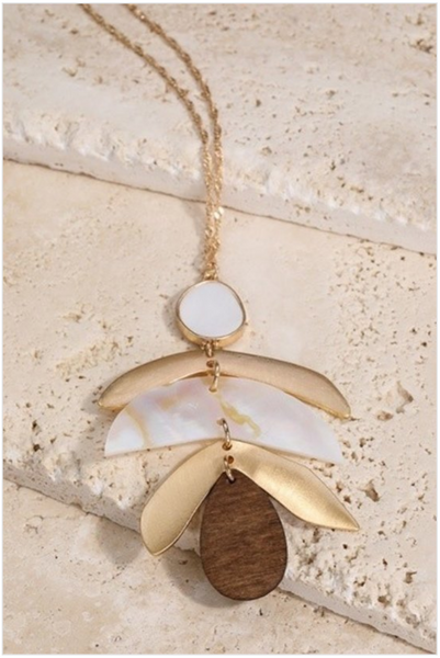 Tiered Feather Necklace