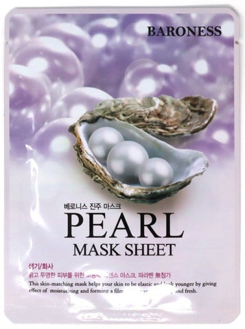 Sheet Mask - Pearl Extract