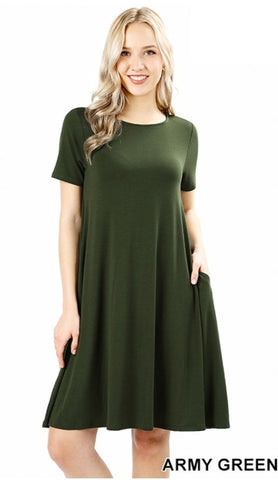 Flare TShirt Dress