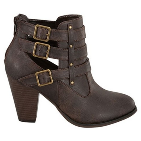 Camila - Chocolate Ankle Boot