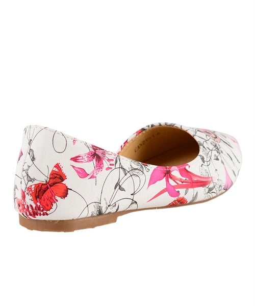Candy - Floral Flats