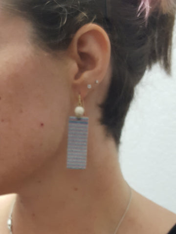 Glitter Strip Earring