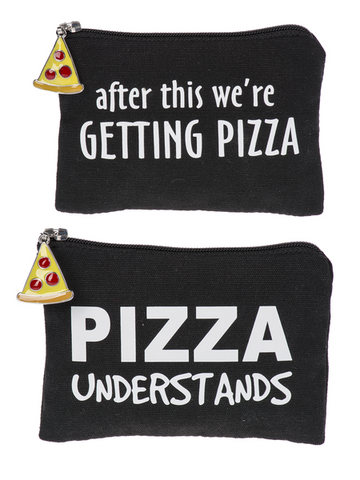Pizza Party Coin Purses