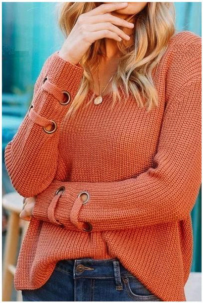 Cuff Detail Sweater