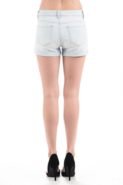 Light Shorts with Cuff