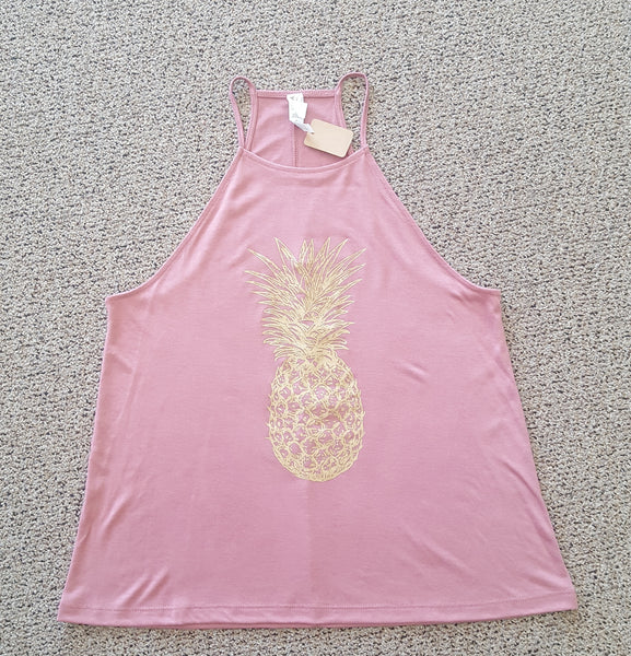 Golden Pineapple Tank