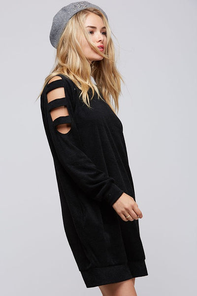 Arm Cut Out Dress