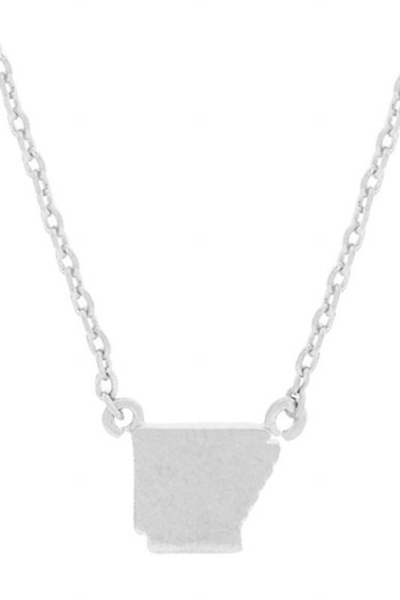 TINY Arkansas Necklace