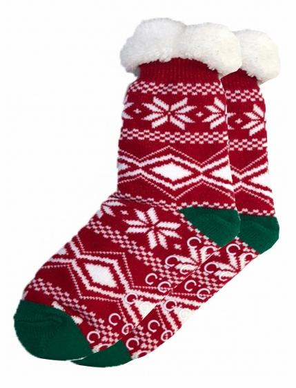 CC Sherpa Socks - Holiday