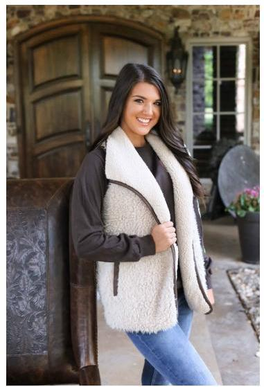 CC Sherpa Vest (Reversible and More Colors!)