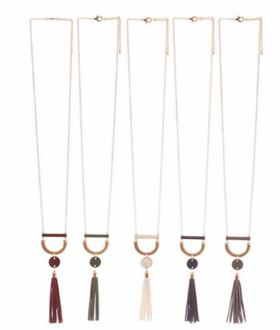 U Need this Tassel Necklace