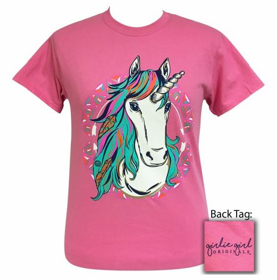 Unicorn Tee by Girlie Girl Originals