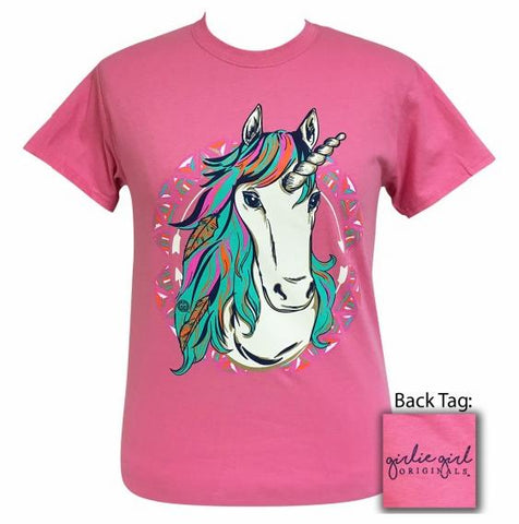 Unicorn Tee by Girlie Girl Originals - Adult M & Youth M - LAST CALL