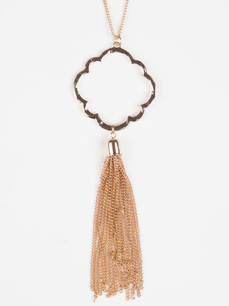 Moroccan Tassel Necklace