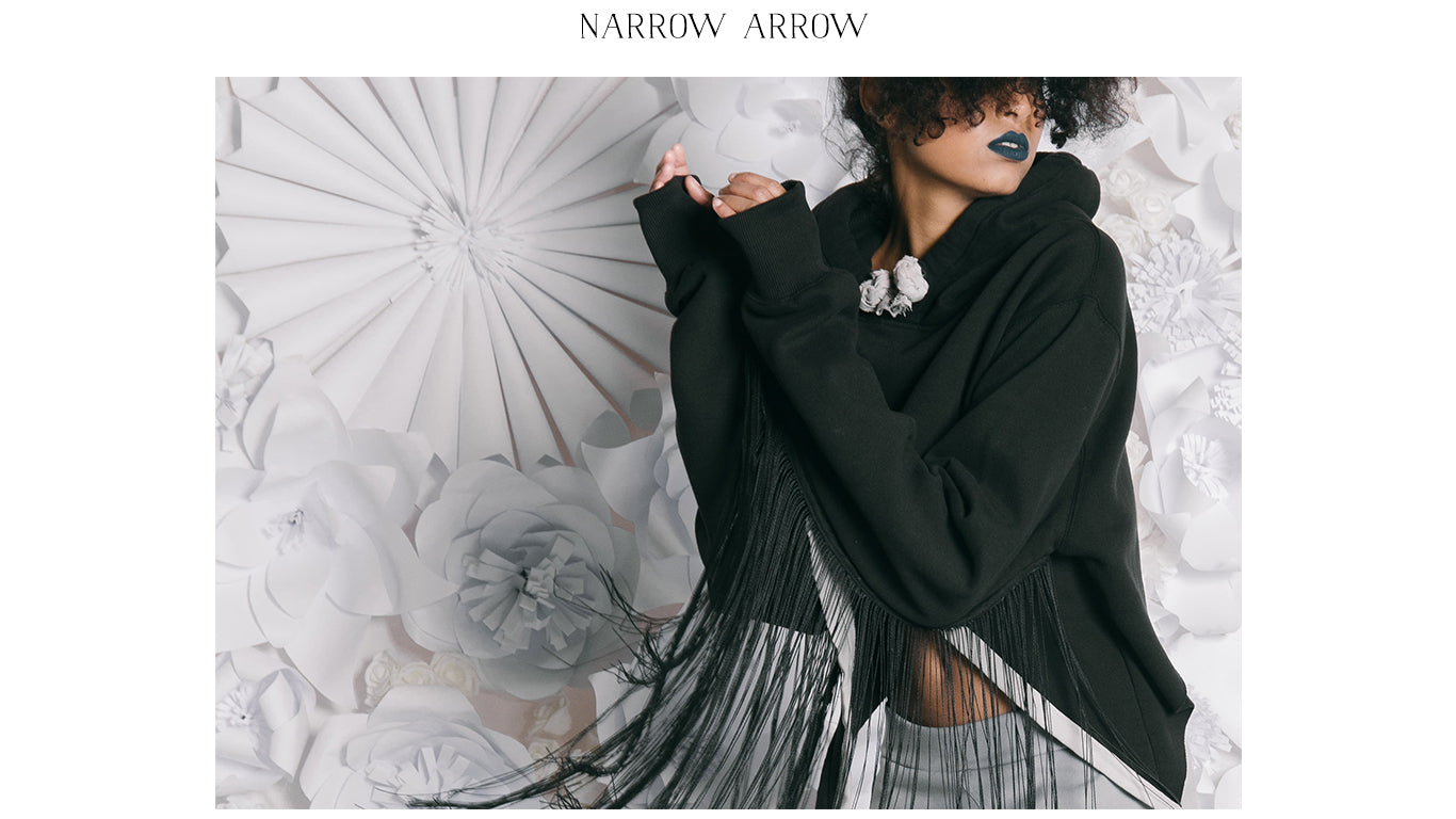 Shop Narrow Arrow for affordable, luxury UK fashion. Timeless classics with a catwalk sports luxe edge.