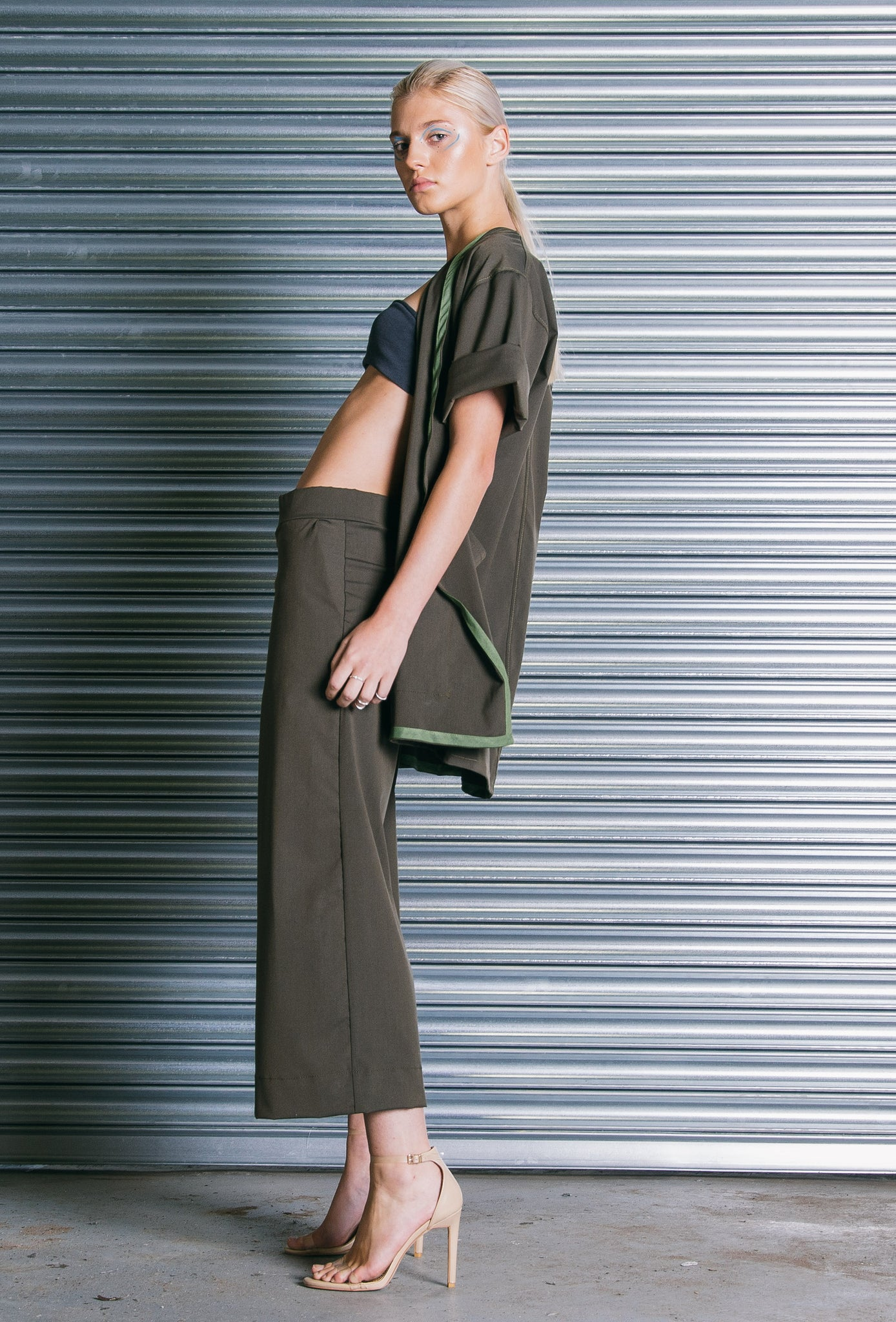 The Culottes in Olive