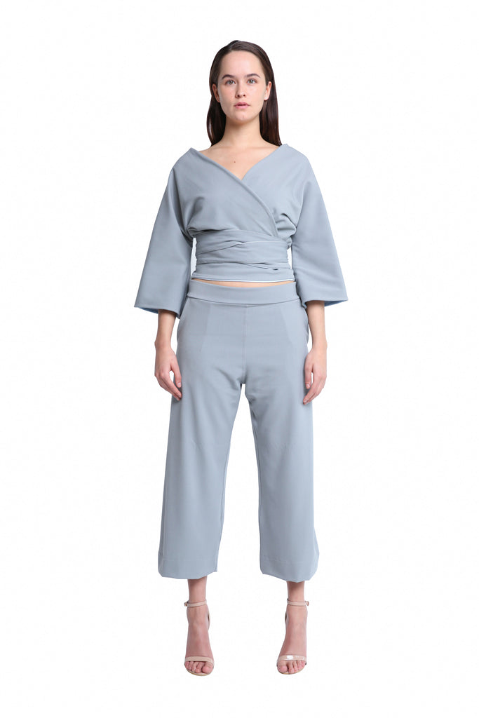 Yatta Culottes in Ice Grey